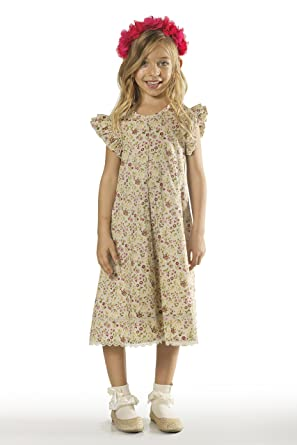 f69174539 Amazon.com  Girls Floral Dress in Sizes 2 to 9 Years -- The