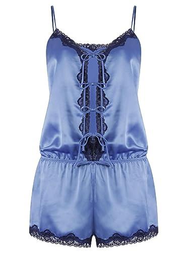 Darjeeling - Chaleco - para mujer azul 36