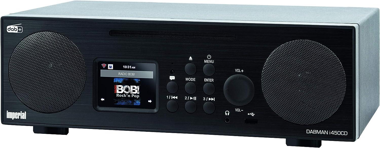 Imperial Dabman I450 Internet Dab Radio Home Cinema Tv Video