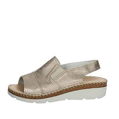 Cinzia Soft IG9478 002 Sandale Femme Platine Platine - Chaussures Sandale Femme