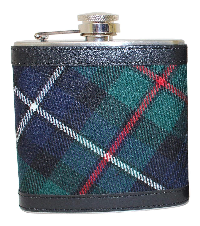 人気商品 100 % Scottish Tartan 100 Wrapped 6オンスステンレススチールCaptive Scottish B074ZJCKGF Topポケットヒップフラスコ – Robertson Huntingモダン B074ZJCKGF, BUNSEIDOスポーツ:8d845259 --- a0267596.xsph.ru