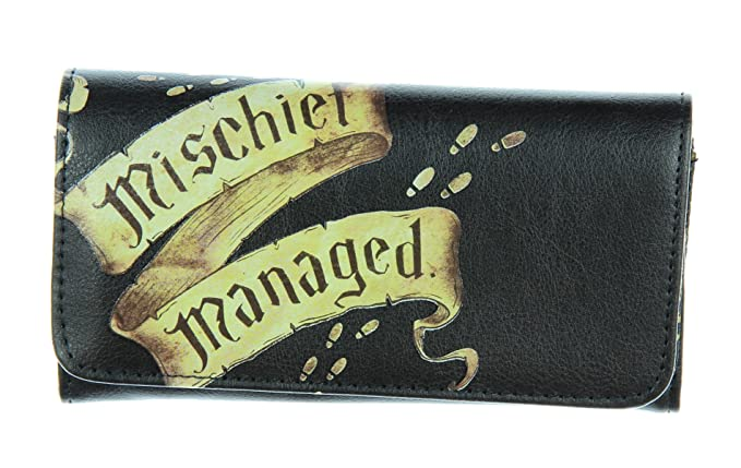 Harry Potter Marauder's Map Mischief Managed Flap Wallet