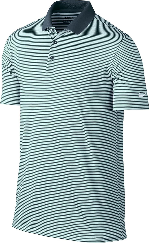 c4d7e5aa Amazon.com : NIKE Men's Dry Victory Stripe Polo : Clothing