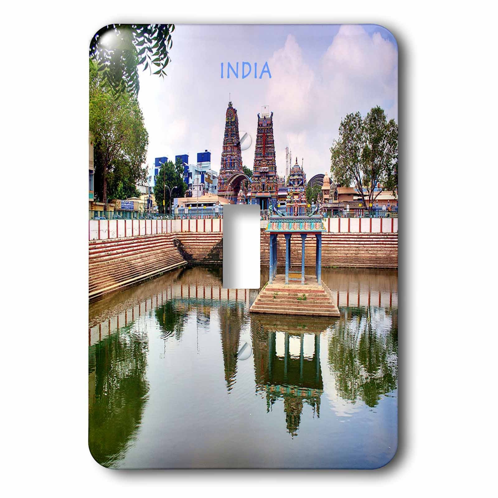 3dRose lsp_80276_1 Hindu Temple In India Single Toggle Switch