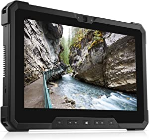 Dell Latitude 12 7212 RUGGED 11.6 inches Gorilla Glass Glove Capable TouchScreen FHD (1920x1080) Outdoor Business Tablet: Intel Core i5-7300U, 128GB SSD, 8GB RAM, GPS, Windows 10 Pro (Renewed)