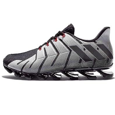 adidas uomini springblade pro cny, nero / bianco, 10 m: