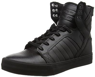 Supra Skytop Skate Shoe Black-White  Supra  Amazon.ca  Shoes   Handbags 222072fd096