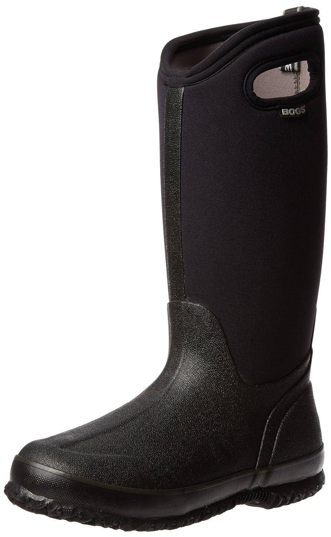 Bogs Women's Classic High Handle Waterproof Insulated Rain Boots B0022NI0GO 8 B(M) US|Black