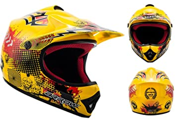 "Armor · AKC-49 ""Yellow"" (yellow) · Casco Moto-Cross"