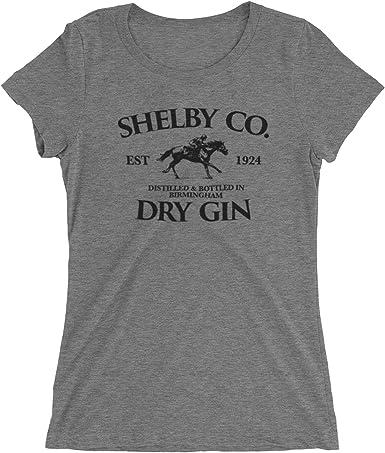 Shelby Brothers Gin Inspired by Peaky Blinders - Camiseta de manga corta para mujer