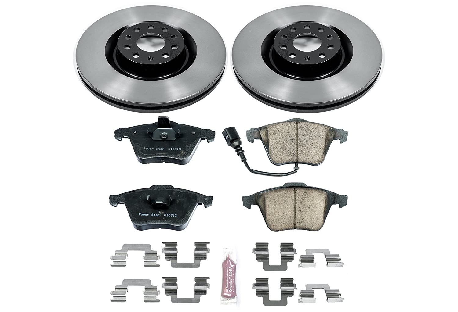 Autospecialty KOE5471 Daily Driver 1-Click OE Replacement Front//Rear Brake Kit