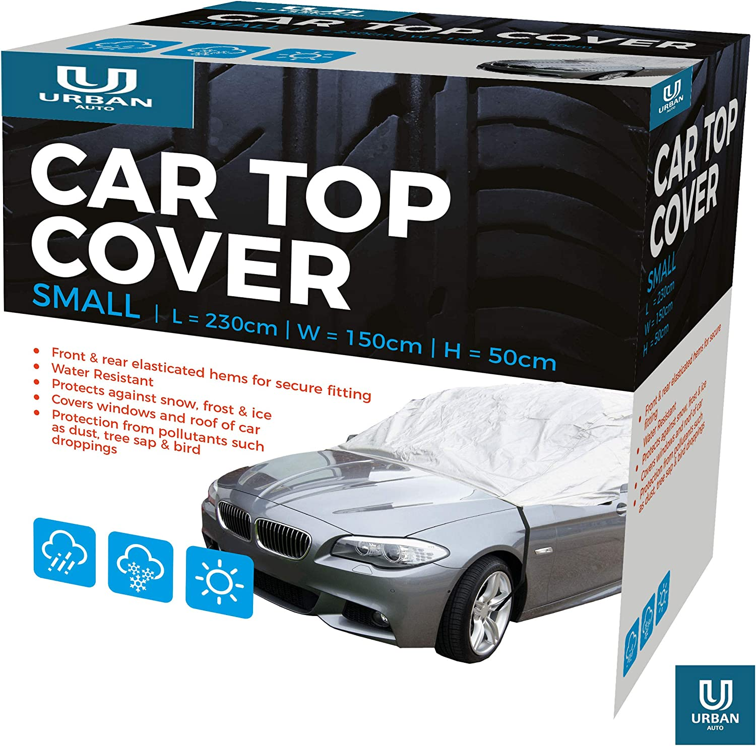 The Urban Company Water Resistant Full Car Cover To Fit Mazda Mx-5 Protect From Snow Ice Birds
