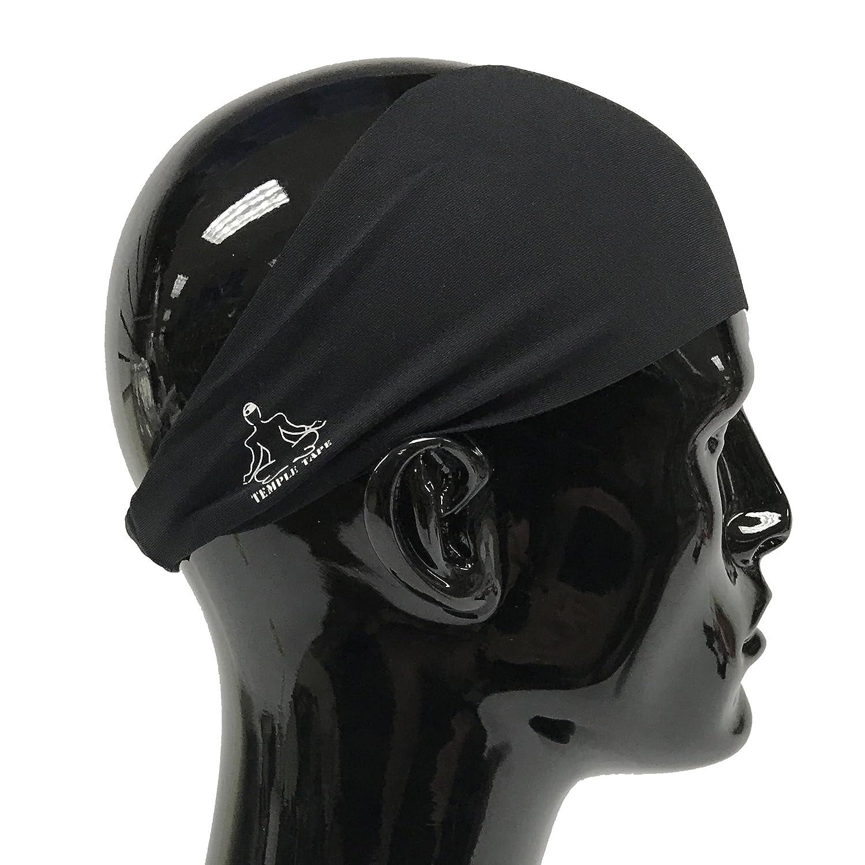 Amazon.com  Temple Tape Headbands for Men and Women - Mens Sweatband ... 4e591d2cb9