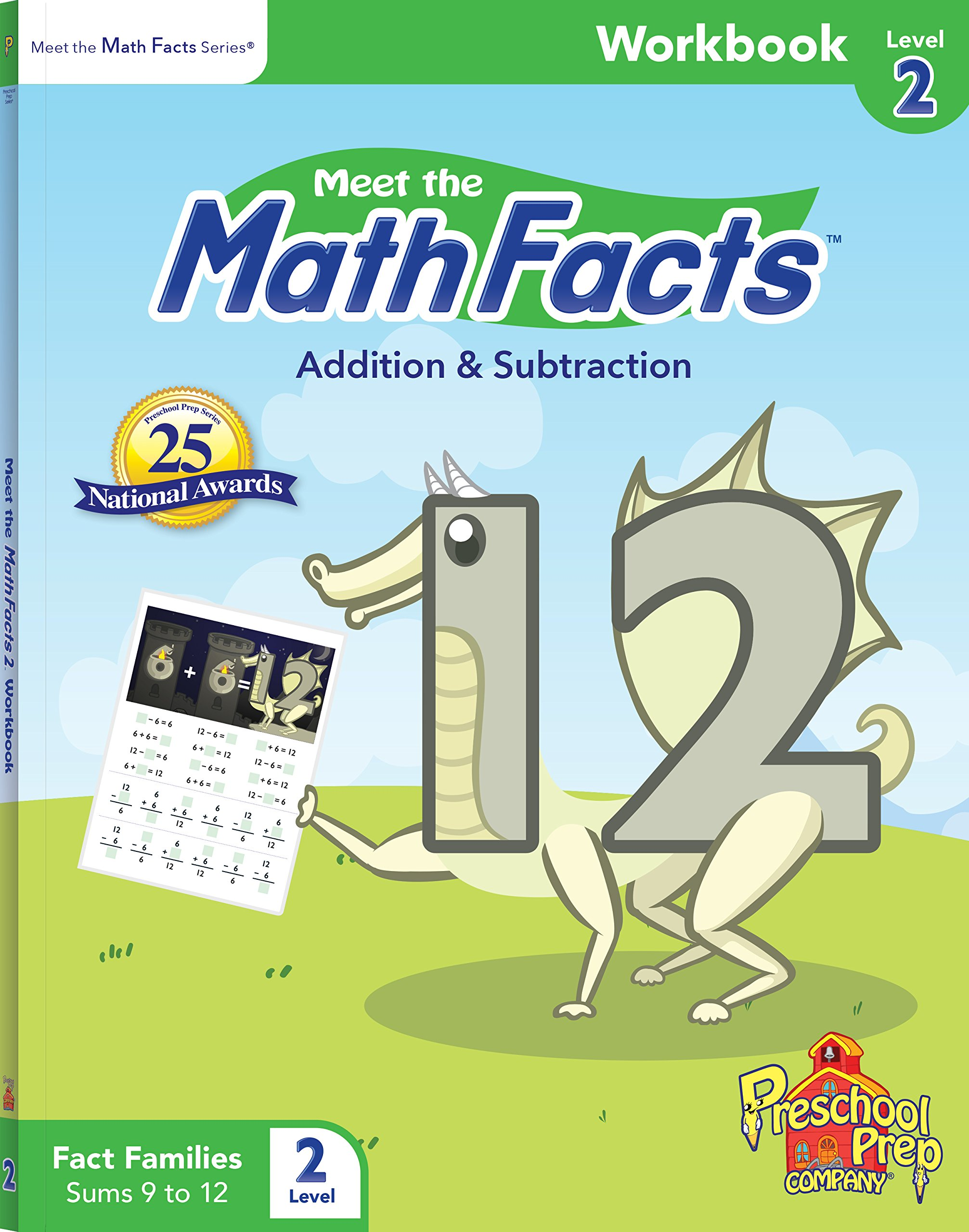 Meet the Math Facts Level 2 - Workbook: Kathy Oxley: 0855772005193 ...