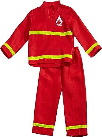 Funny Fashion 403082 - Disfraz de bombero para niño (talla 164 ...