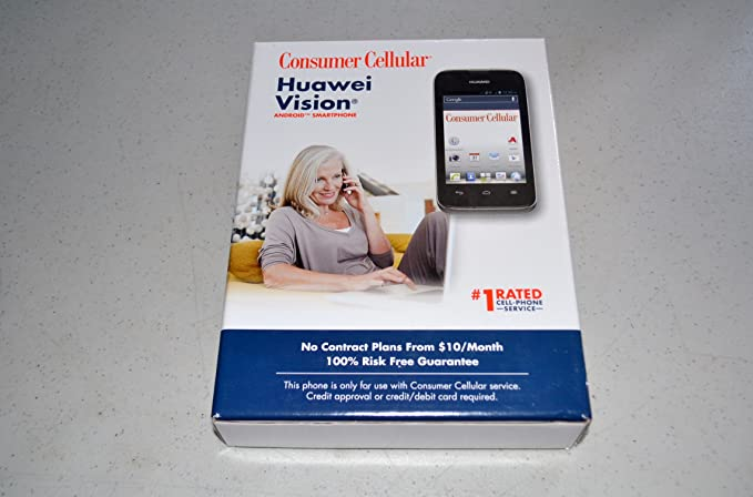 Amazon com: Huawei U8850 Vision 3G Mobile Phone - Consumer Cellular