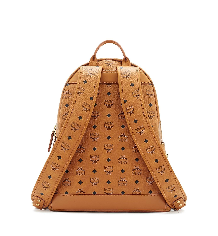 MCM mochila bolso de mujer nuevo stark marrón: Amazon.es: Zapatos y complementos