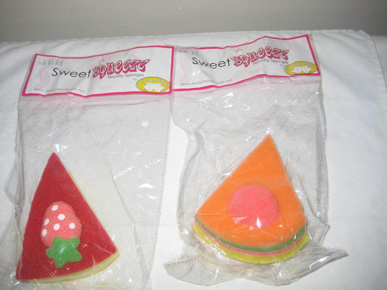 Amazon.com: Variedad de Sweet Squeeze novedad Esponjas (4 ...
