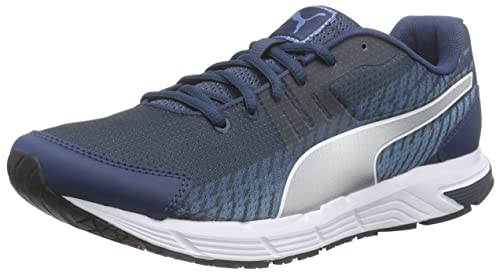 Puma Men's Sequence v2 Running Shoes Blue Size: 6.5 UK