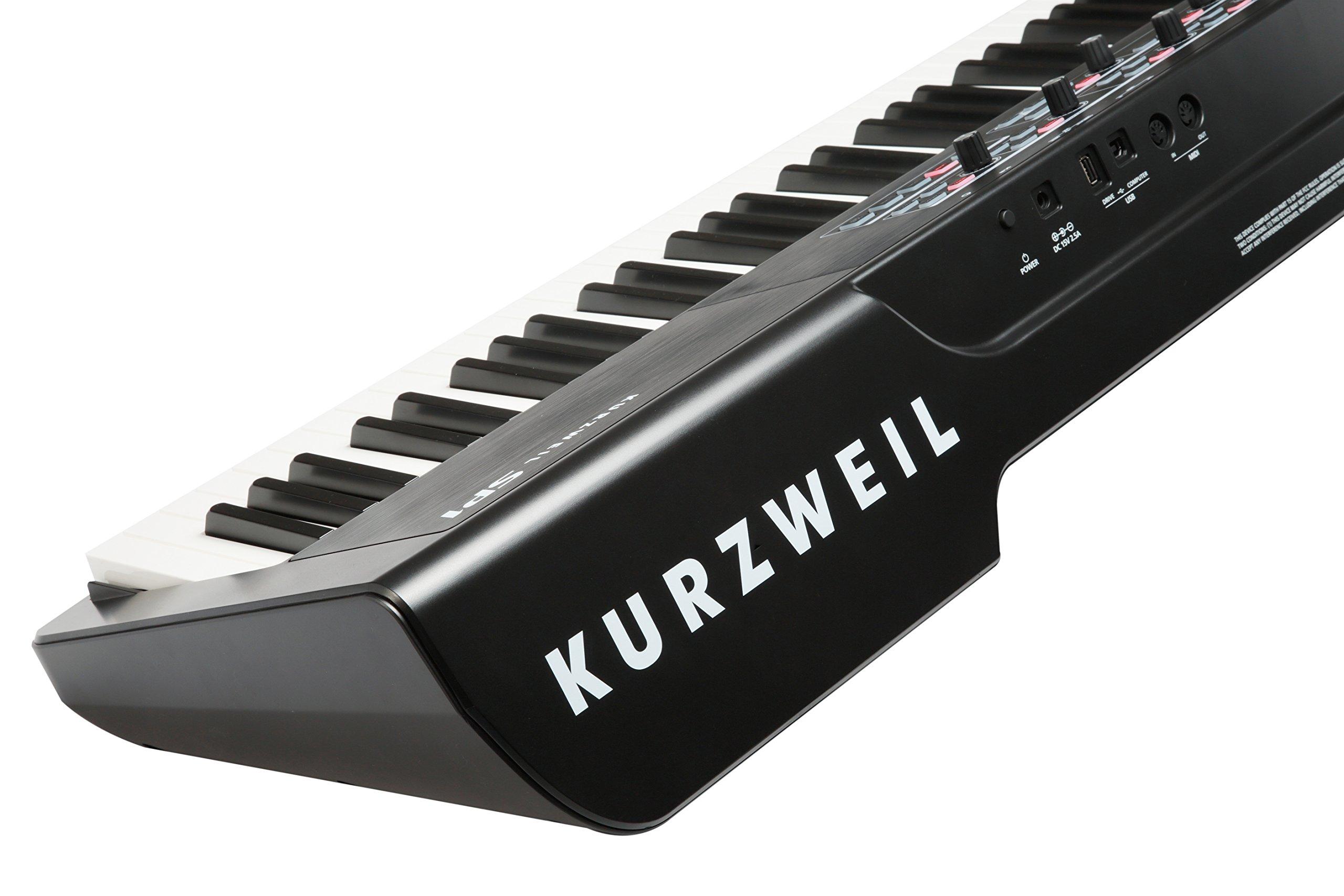 Kurzweil SP1 88-Key Stage Piano, Black (SP1-LB) by Kurzweil (Image #8)