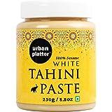 Urban Platter White Tahini Paste, 250g / 8.85oz [100% Pure Sesame + Pate de Sesame]
