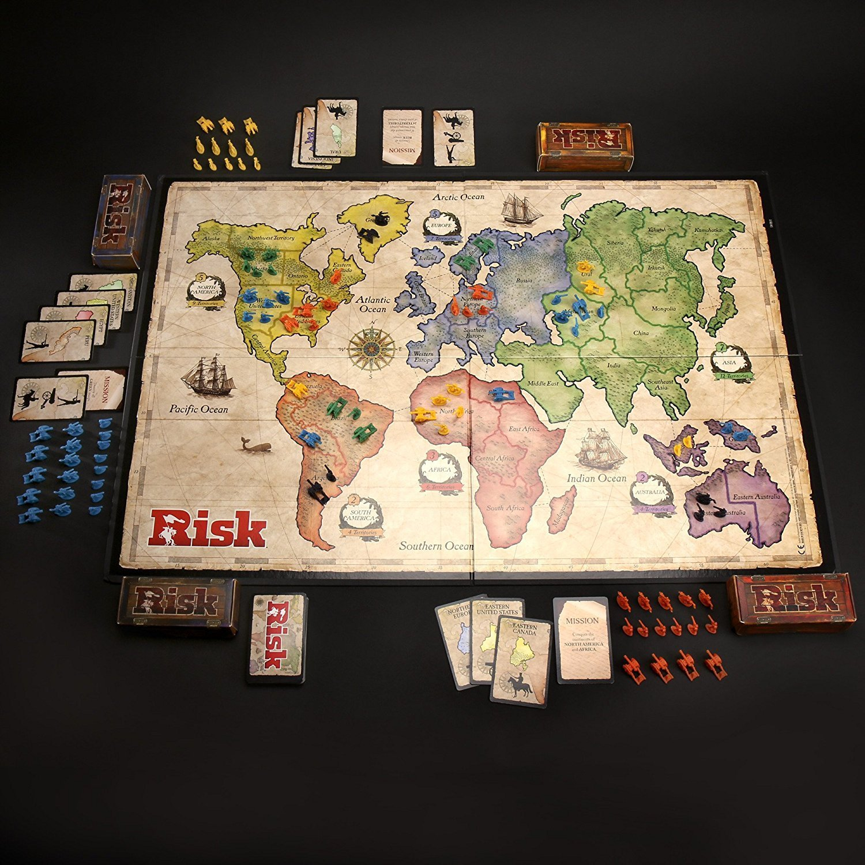 Global Domination Hasbro Games 28720 Hasbro Risk Game