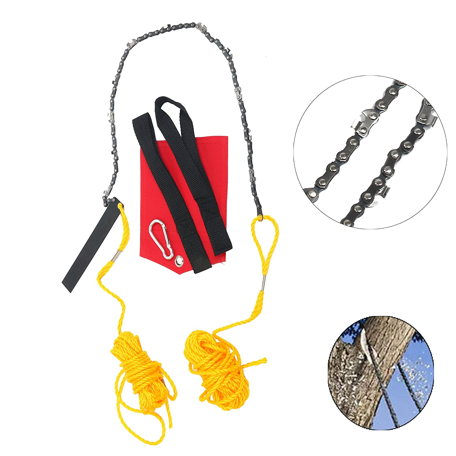 Amazoncom High Limb Brand CS RopeandChain Saw Camping - Creative door chain that is really safe