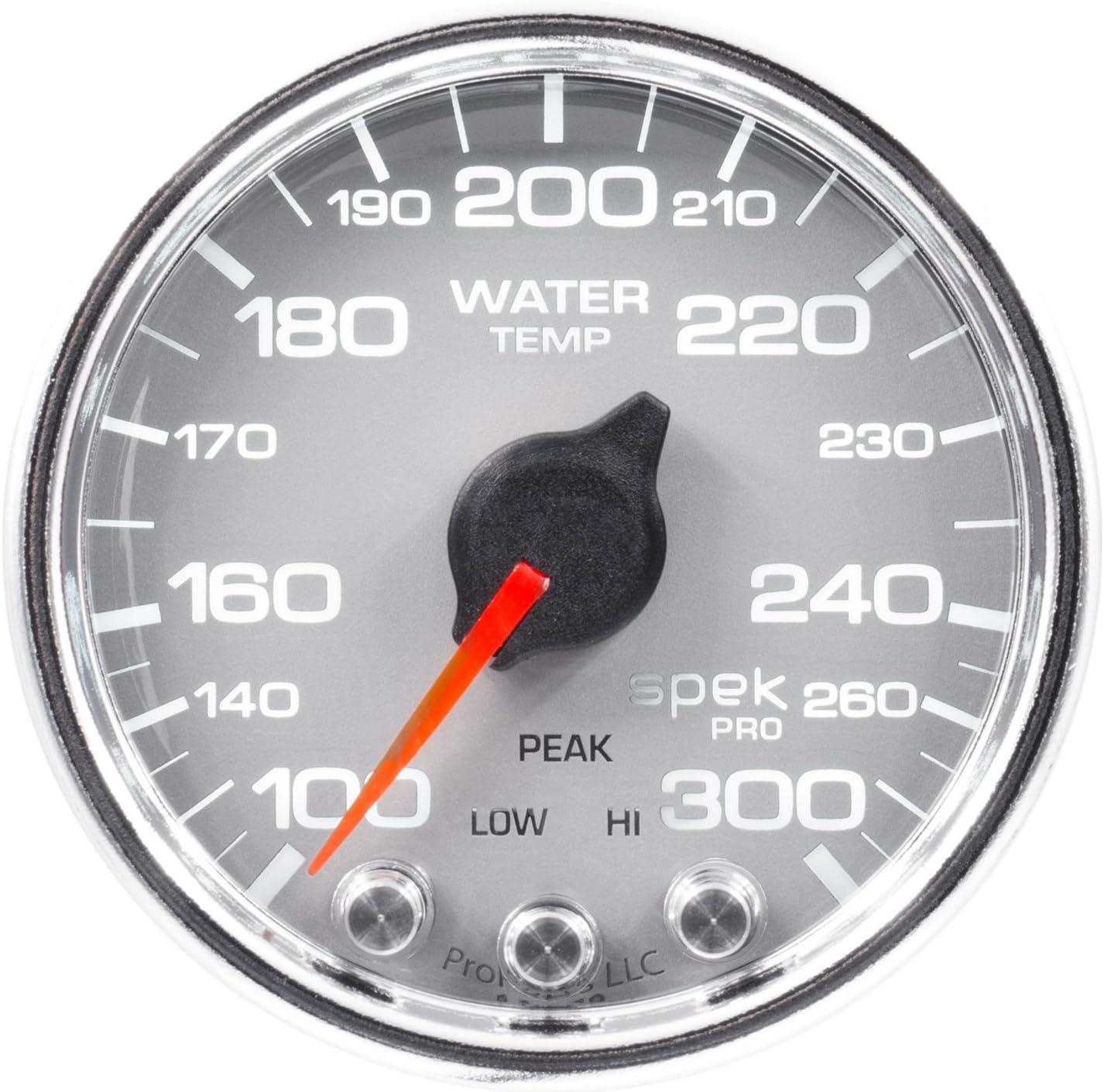 Slvr//Blk Auto Meter P30522 Gauge Stepper Motor W//Peak /& Warn Boost 2 1//16 100Psi Spek-Pro 2 1//16