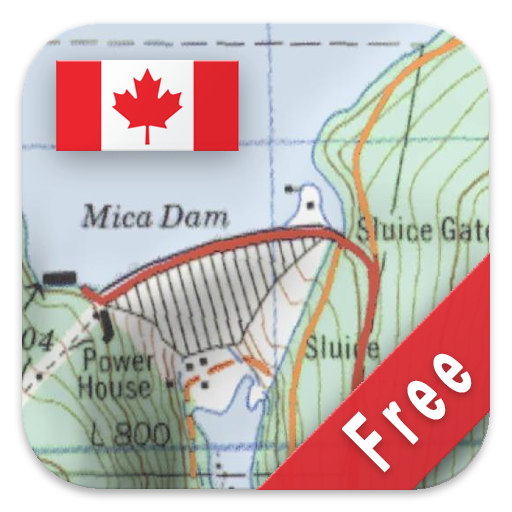 Canada Topo Maps Free Amazonca Appstore For Android - Topographic map free download