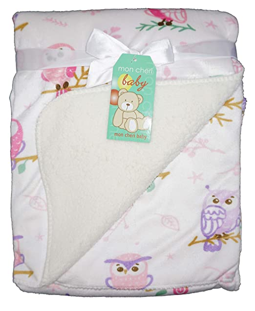 Amazon.com: Mon Cheri - Manta de felpa unisex para bebé ...