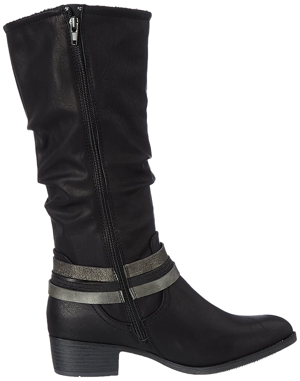 JANE KLAIN Damen 255 748 Schwarz Cowboy Stiefel Schwarz 748 (schwarz) a3a285