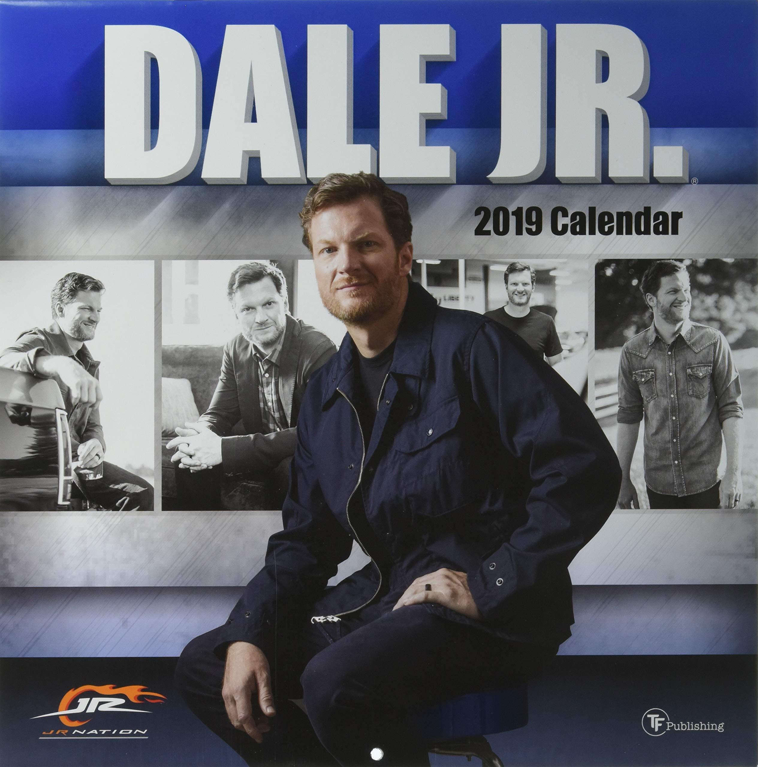 6a951bedfb37a8 Dale Earnhardt Jr 2019 Wall Calendar (12
