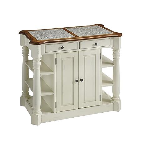 Amazon.com - Home Styles Americana Granite Kitchen Island ...