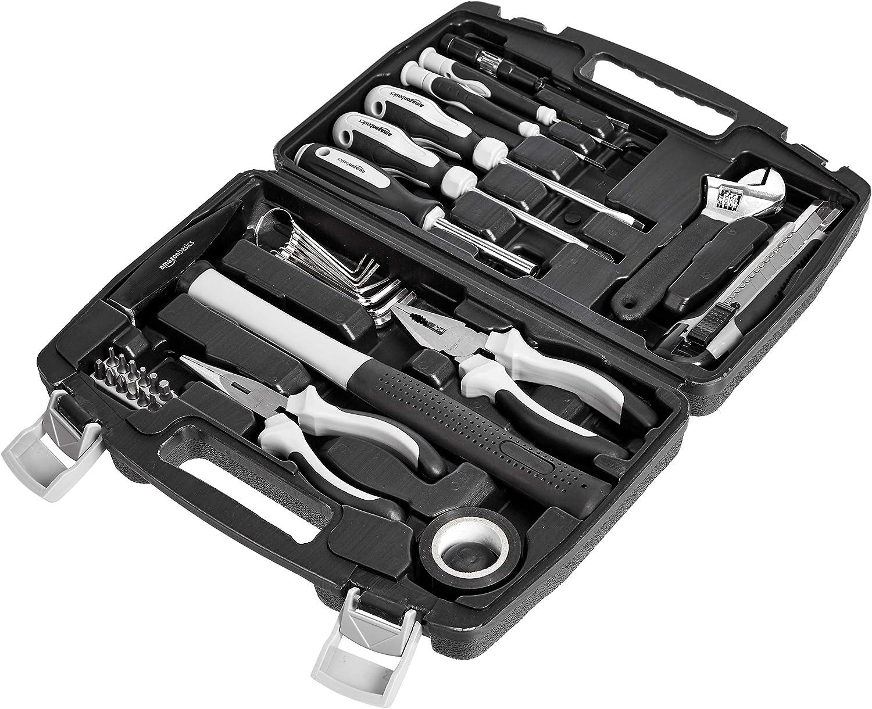 AmazonBasics - Juego de herramientas para el hogar (32 piezas)