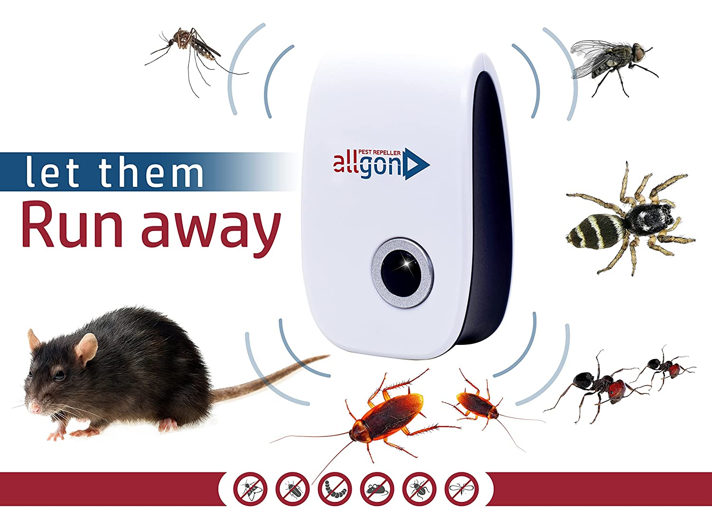 Amazon.com : Ultrasonic Repellent. Pest Control. Electronic Plug In ...