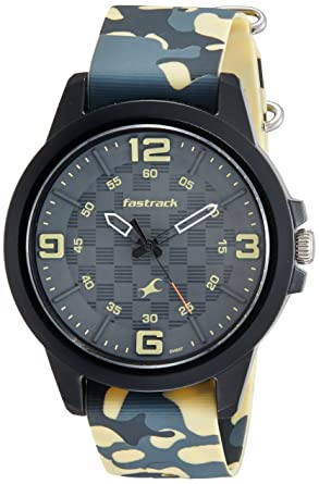 2ee5f8d4631 Buy Fastrack Trendies Analog Black Dial Men s Watch-38048PP02 Online at Low  Prices in India - Amazon.in