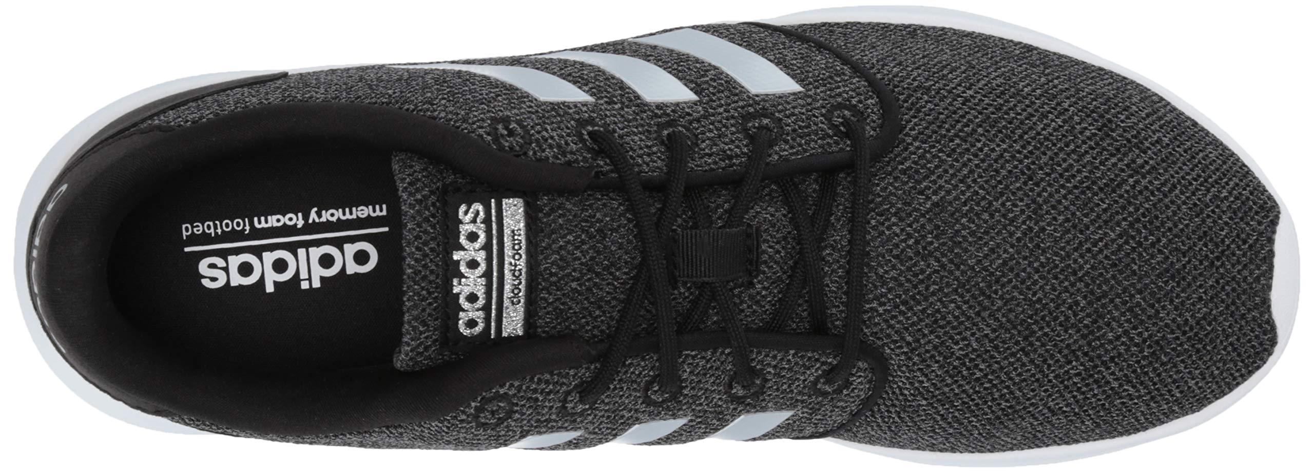 adidas Women's Cloudfoam Qt Racer Sneaker, Black/Silver Metallic/Grey, 5.5 M US by adidas (Image #7)