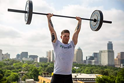 Amazon.com : 300lb Bar + Weight Set (45lb Olympic Barbell + 255lb Weights Set + Bar Collars) / 2.5/5/5lb Iron Plate Pairs + 10/25/35/45lb Contrast Letter ...