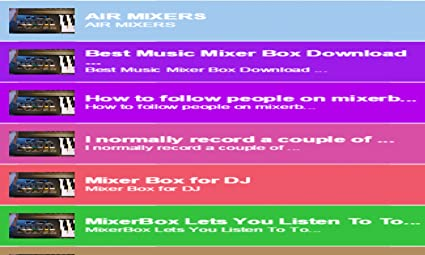 Amazon com: MixerBox For Unified Music: Appstore for Android