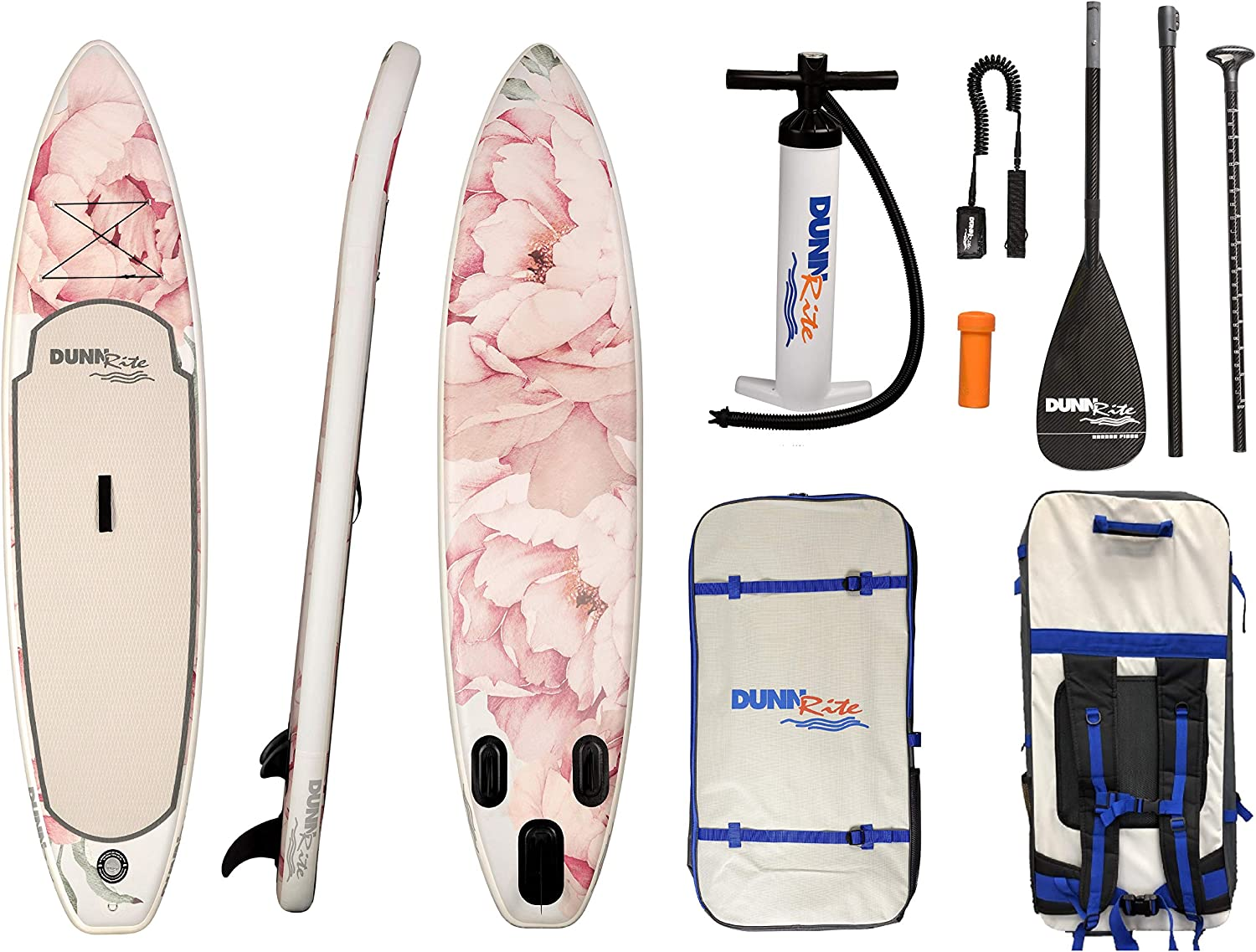 Dunnrite Products Floral Stand Up Paddle Board