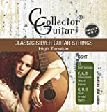 CollectorGuitar Konzertgitarren-Saiten 66HT Classic Silver Guitar Strings Nylon Core - High Tension