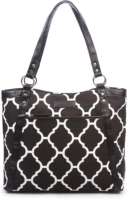 Stop Following Me Evolution Canvas Tote Shoulder Bag Casual Handbag For Womens Black