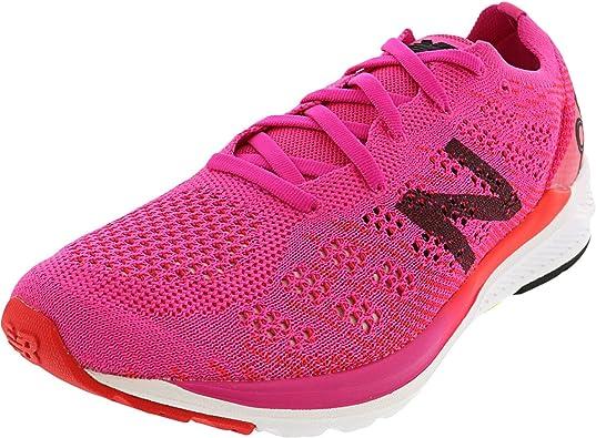 New Balance 890 V7 Neutralschuh Damen-Pink, Weiß, Zapatillas de Running  Calzado Neutro para Mujer