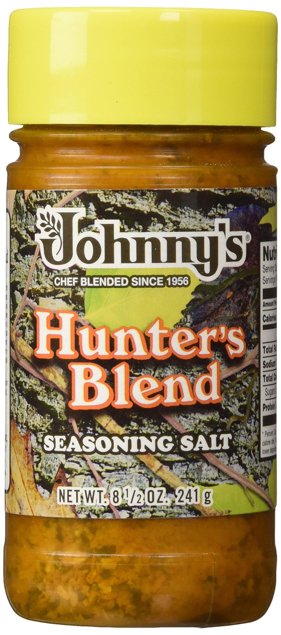 Johnnys Fine Foods Seasoning Salt Hunter, 8.5 oz