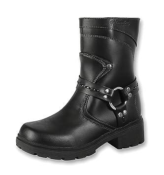 7b97cdb7fb797 Amazon.com  Milwaukee Motorcycle Clothing Company Womens Daredevil Boots ( Black