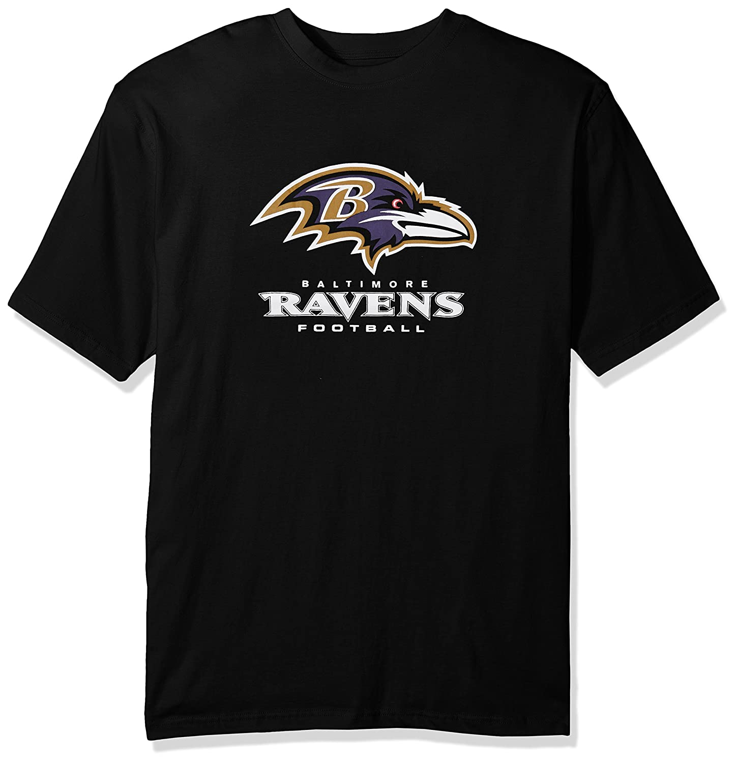 NFL Mens Ravens S//S Team Color TEE