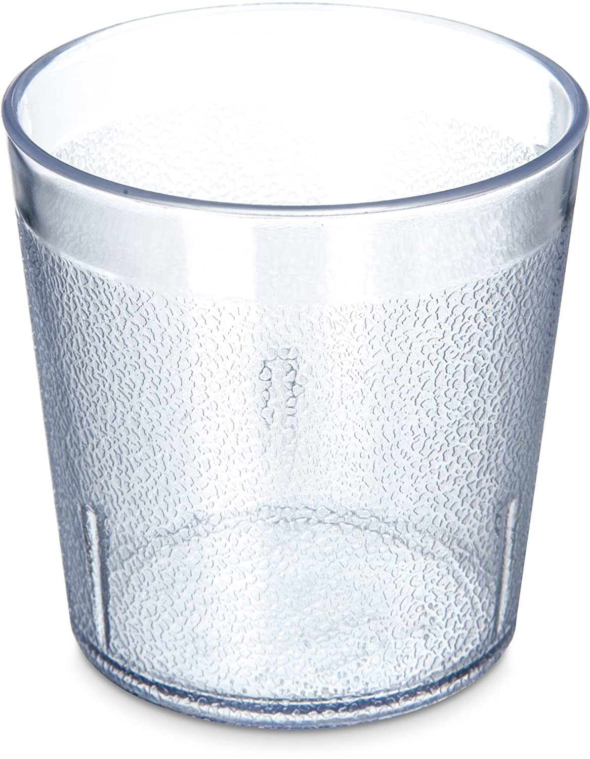 Carlisle 5529-8107 BPA Free Plastic Stackable Tumbler, 9 oz., Clear (Pack of 6)