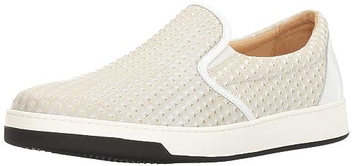 BugatchiPompeii Sneaker - Zapatilla Deportiva Pompeii Hombres, Blanco (Bianco), 12,5 D(M) US: Amazon.es: Zapatos y complementos