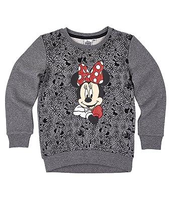 Disney Minnie Chicas Sudadera - Gris - 128