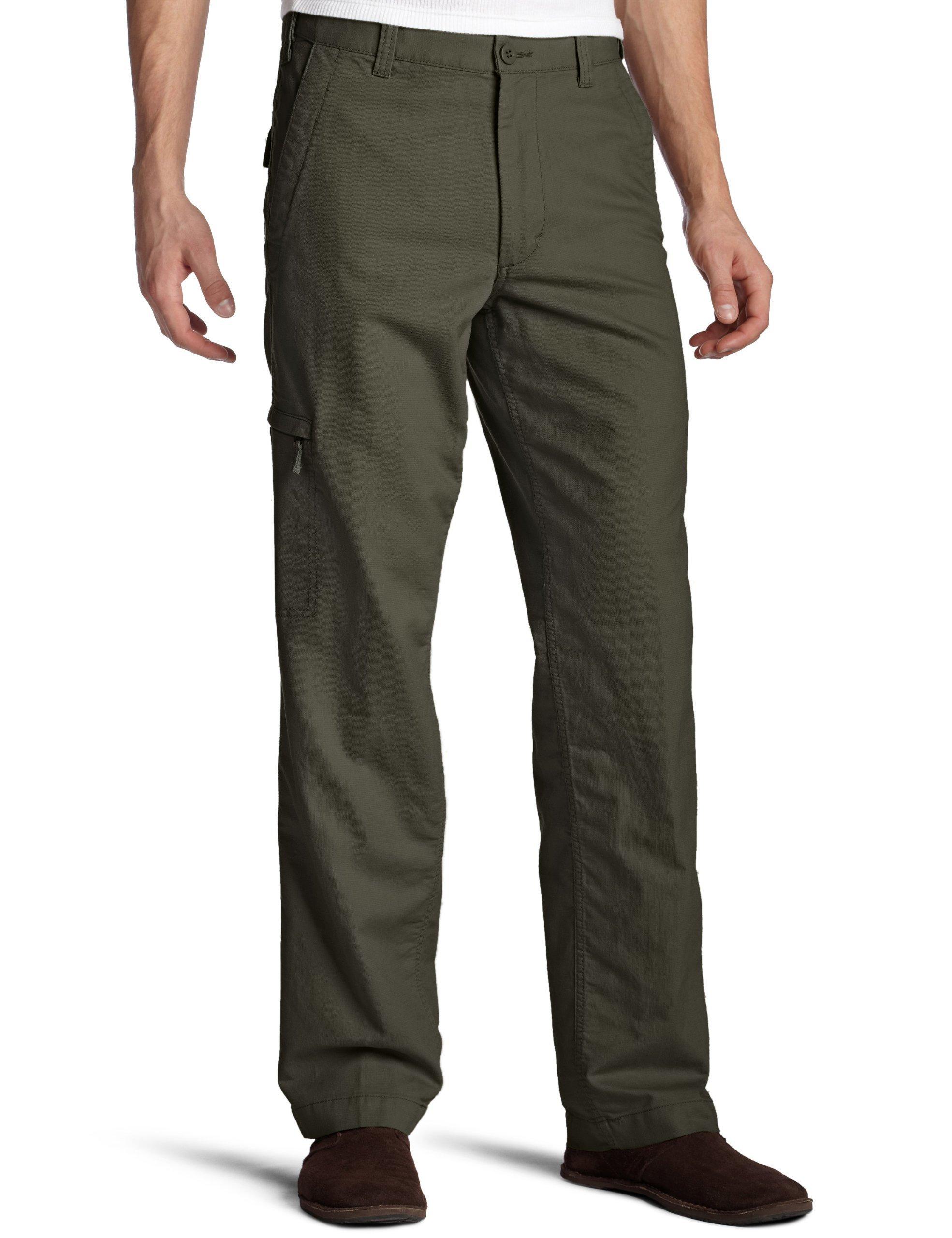 Dockers Men's Alpha Khaki Pant, Rifle Green, 32W x 29L by Dockers